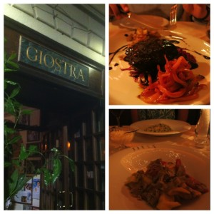 La Giostra - this place did not suck.
