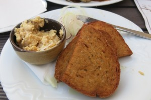Pivni syr – beer cheese (marinated in ale until semi-soft…can I get a hallelujah up in here?)