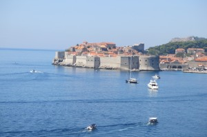 View of Dubrovnik's Old Town...famous for it's intact city walls built during the 12th - 17th centuries
