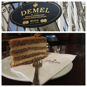 All kucken, no coffee at Cafe Demel.