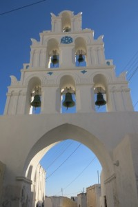 Church bells in Magalochori