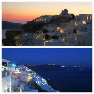 Final scenes as we took our time meandering the streets of Oia as dusk turned to evening.