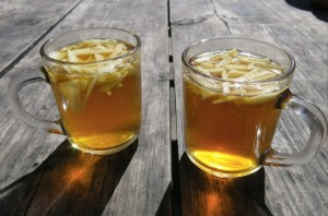 Apple Tea in the Manang Valley