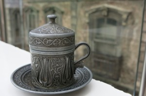 Oh, hey, cute little Turkish mug.