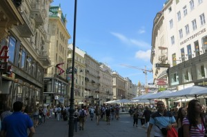 Downtown Vienna.