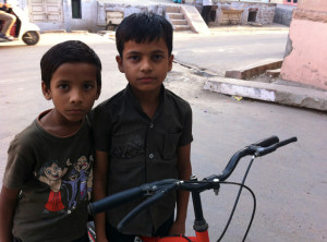 A couple local kids who were all smiles while asking for a photo, then decided to mean mug us once the camera came out.