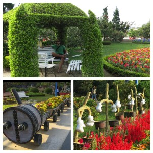 More from the gardens.