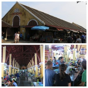 Hoi An's Central Market - the best place to check out the local produce offerings and grab a delicious meal cooked right at your table.