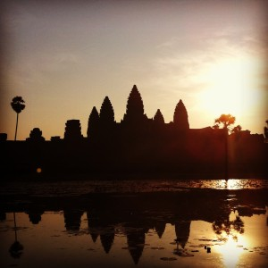 Ladies and Gentleman...Angkor Wat!
