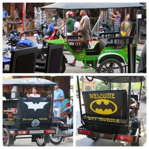 There is some sort of obsession with Batman. My gut tells me that when the movie came out overseas, the film production company threw money at the tuk tuk drivers to help promote it. But that may be the never-relenting jaded PR professional in me. Maybe they just believe in The Bat.
