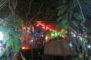 The scenic Treehouse Bar.
