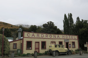 Picturesque Cardrona Hotel, just as it was 150 years ago.