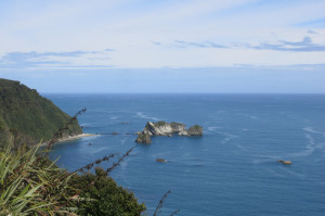 A look out from Knight's Point on SH6 - New Zealand's version of Hwy 1 in California.
