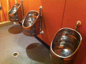 And the keg urinals in the brewery bathroom. Brilliant.