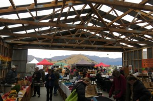 The quaint Remarkables Farmers Market