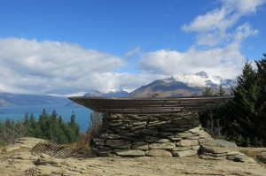 """The hike to the lookout point provided excellent reward: 360 degree panoramic views of the area, culminating in the """"Basket of Dreams"""" millennium sculpture (and grants wishes for those who sit in it)."""