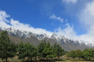 The Remarkables: one of two mountain ranges in the world that run directly north to south