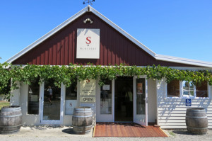 Schubert Winery - one of the charming cellar doors we stopped in for a respite from the heat.