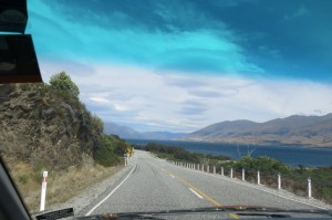 Coming in on the approach to Lake Wanaka. The views just. won't. stop.