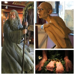 Gandalf, gollum and the feet of Baggins(es).