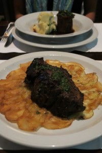 Dave's order: ojo de bife (of course), I opted for the 8 hour lamb.