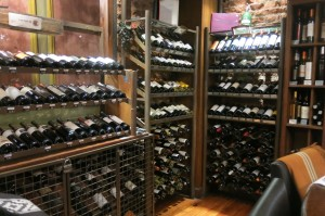 The wine room. Ripe for the picking.