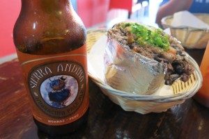 Excellent lunch at Burrito Bar in Barranco (if you can find Sierra Andina's Pale Ale, try it...one of the few microbrewery options in Lima).