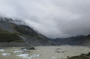 Again, we're pretty sure Mt. Cook's somewhere in that cloudy patch. You could imagine...