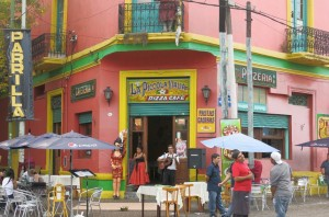 Colorful La Boca.