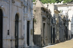 There are more than 4500 vaults in the cemetery.