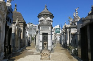 In 1732, the gardens around an existing church and convent became La Recoleta, the first public cemetery in Buenos Aires.